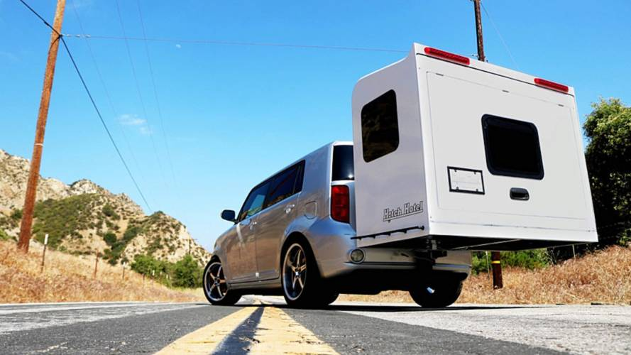 Hitch Hotel Turns Your Car Into An Instant RV Minus The Size