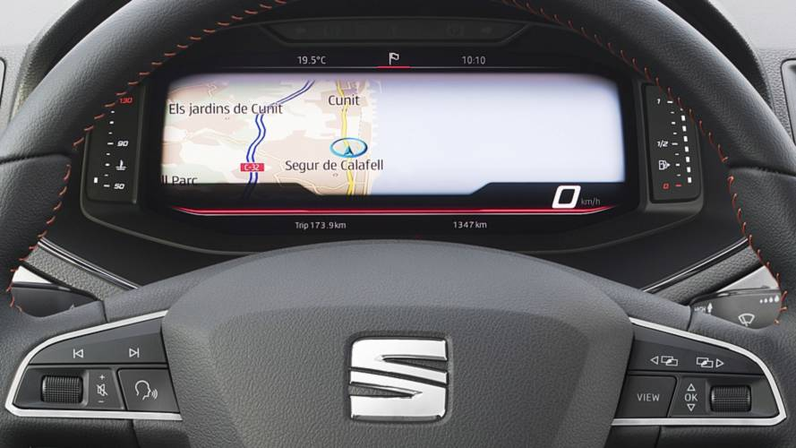 SEAT Ibiza And Arona Get Fully Digital Instrument Clusters