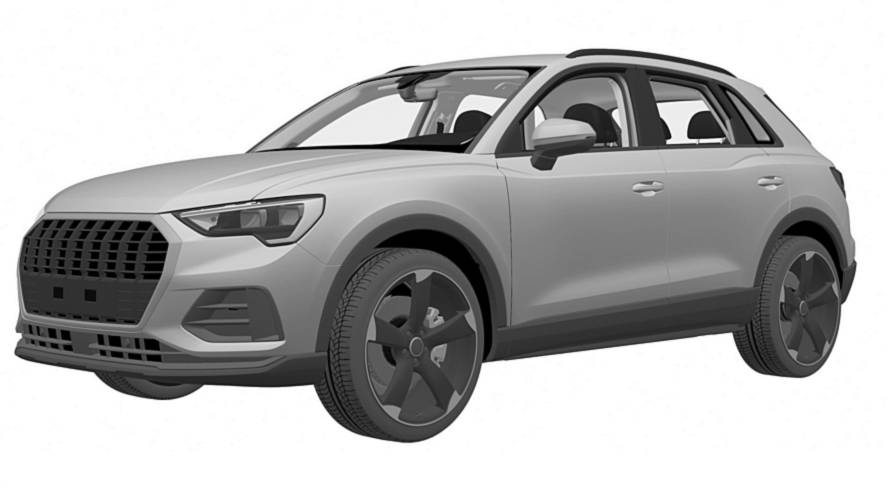 Mysterious new Audi Q3 patent surfaces