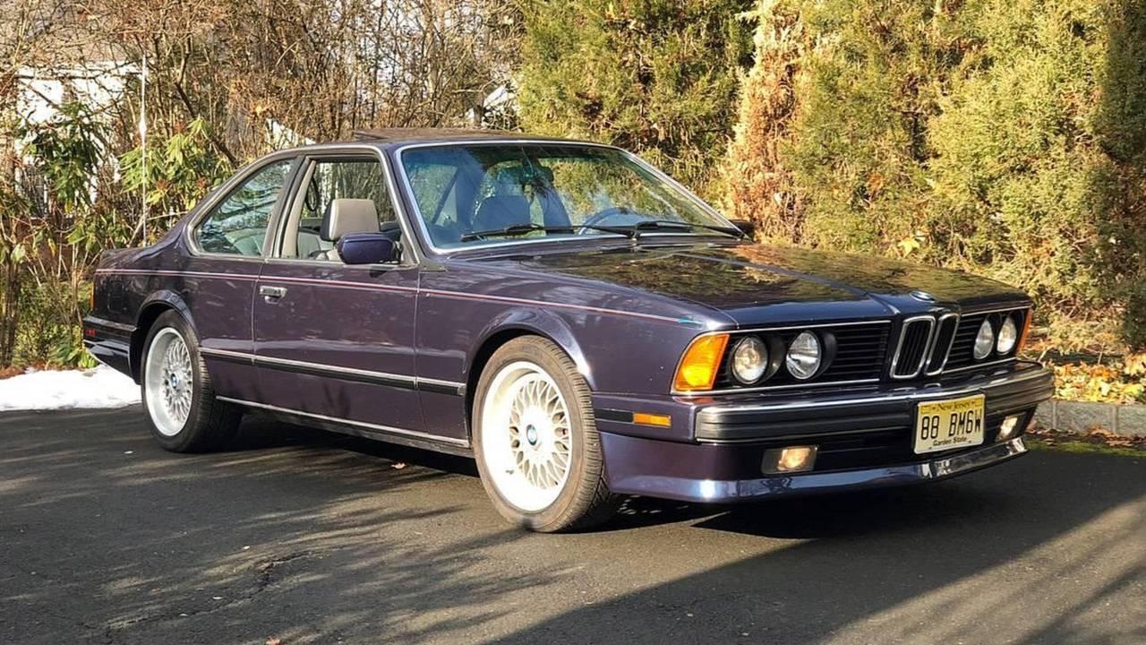 1988 BMW M6 E24 - $75,000