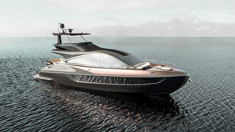 Lexus сделал яхту LY 650 с моторами Volvo