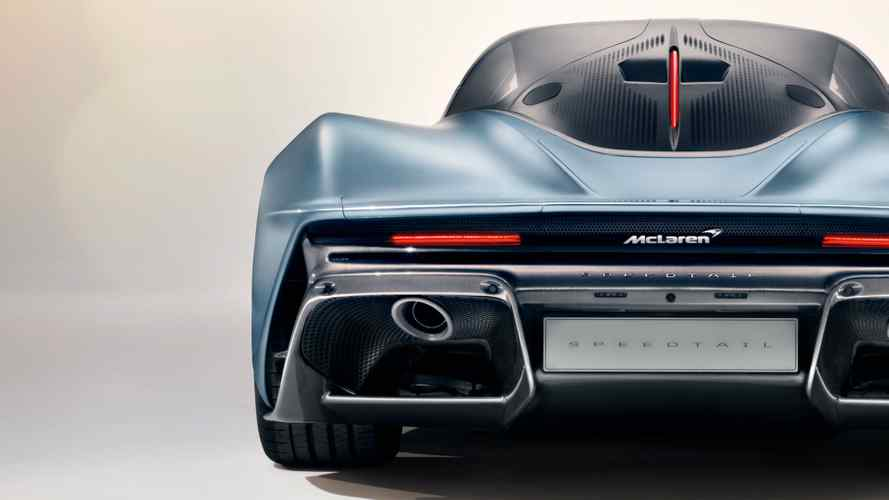 DIAPORAMA - La McLaren Speedtail et le club des 400 km/h