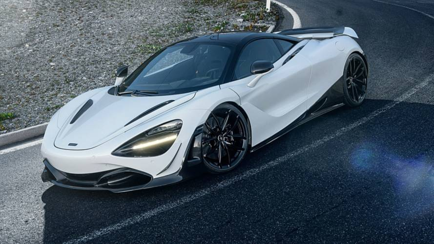 McLaren 720S discreetly refined by Novitec