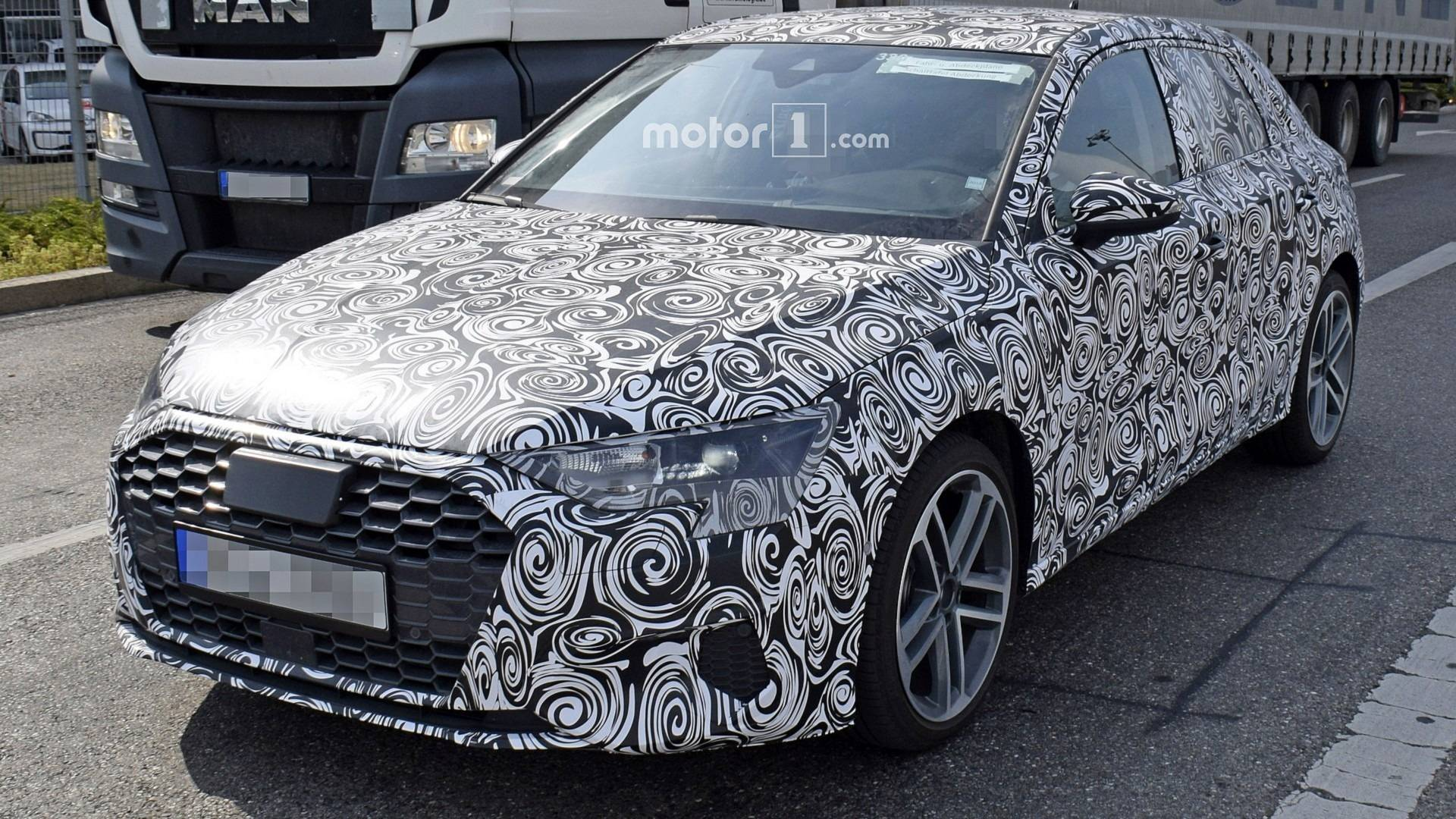 New Audi S Spied For The First Time UPDATE A Spotted - A3 audi