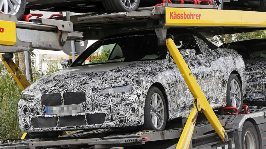 Bmw 4 Series Convertible Spied With Soft Top