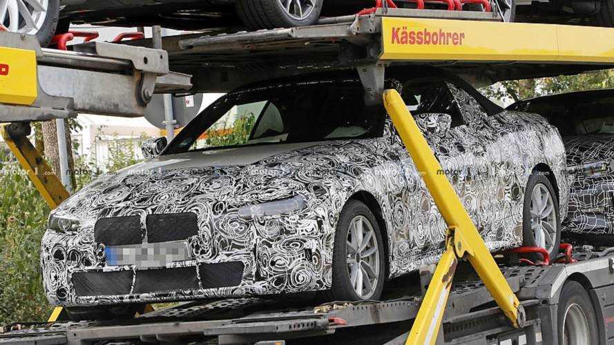 New BMW 4 Series Convertible spy photo