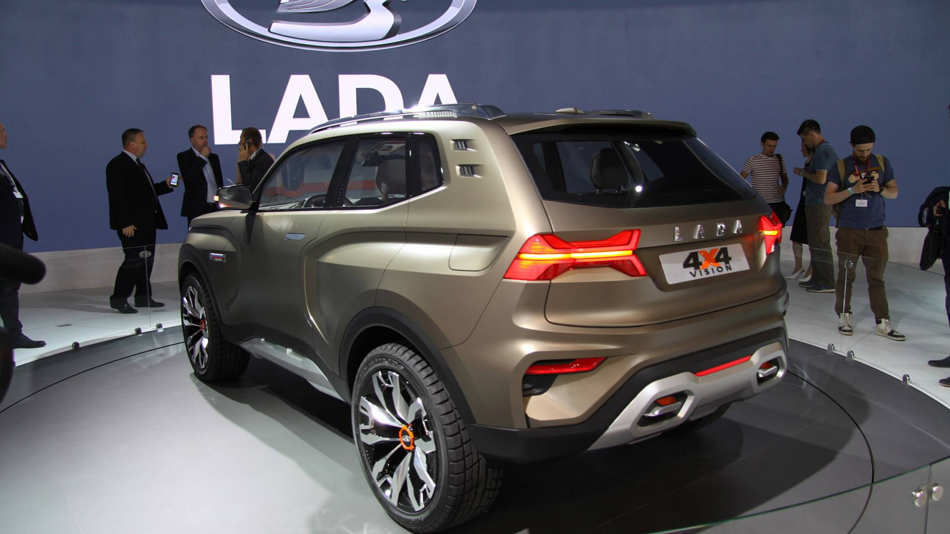 Lada Previews Next Gen Niva Offroader With New 4x4 Vision Concept