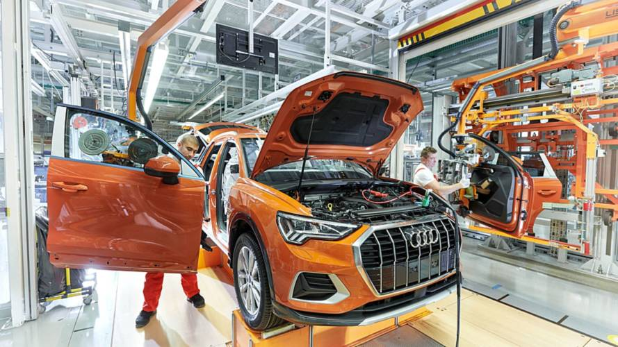 Production Audi Q3 (2018)