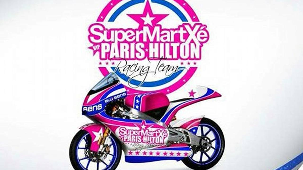 This is what Paris Hilton's GP bike will look like