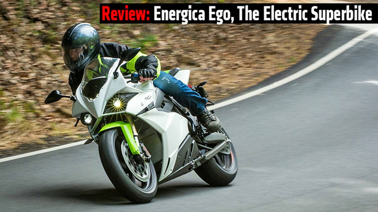 Review: Energica Ego, The Electric Superbike