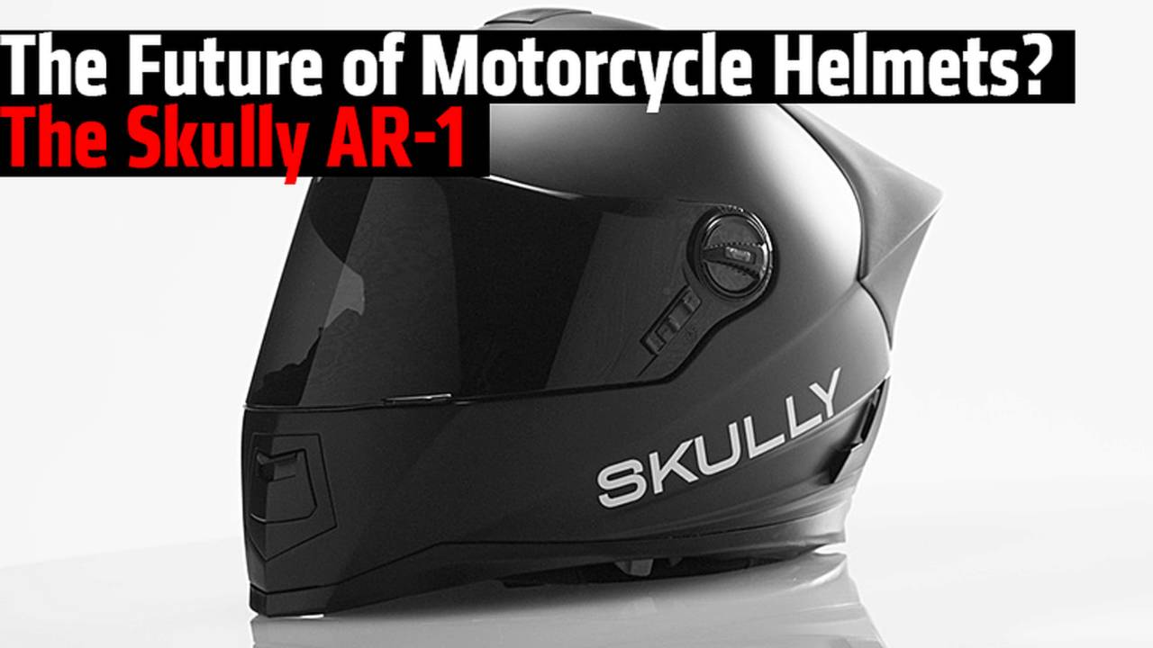 The Future of Motorcycle Helmets? The Skully AR-1
