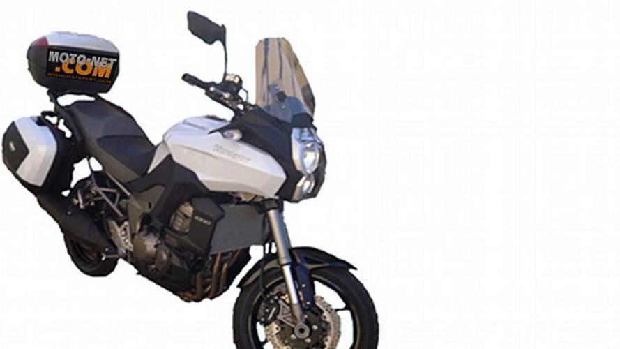 Spy Photos: Kawasaki Versys 1000