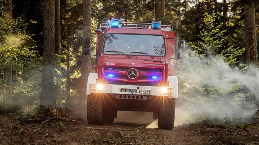 Mercedes-Benz Unimog İtfaiye