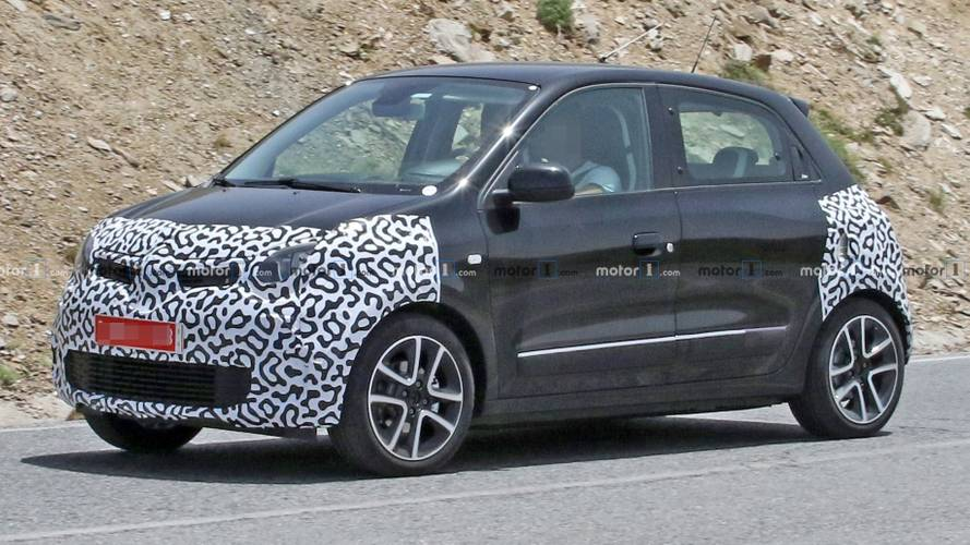2019 Renault Twingo Caught Masking Its Facelift