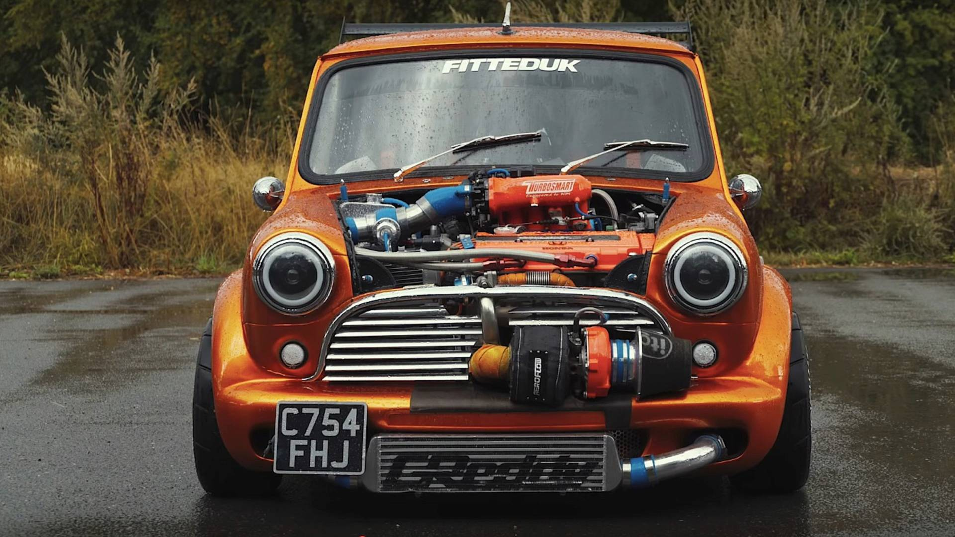 Classic Mini With 360 Horsepower Redefines Pocket Rocket