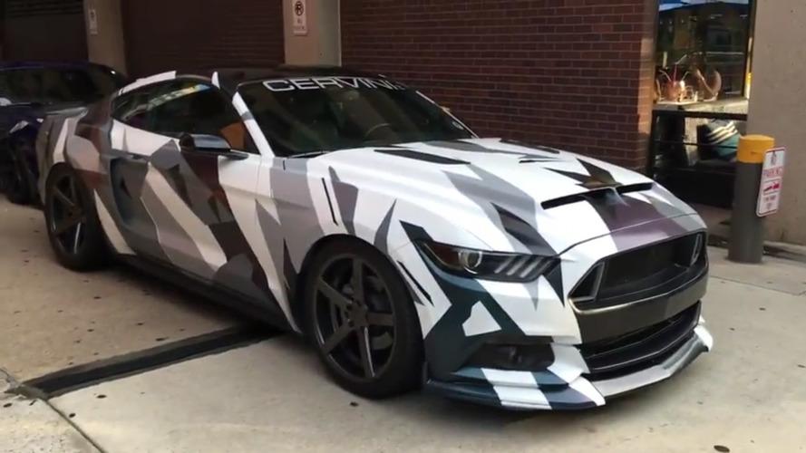 VIDÉO - Découvrez la Ford Mustang camouflée