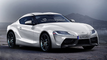 Toyota Supra concept render