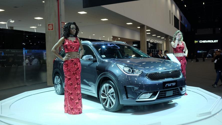 """Salão do Automóvel: SUV híbrido, Kia Niro mostra o lado """"verde"""" da marca"""