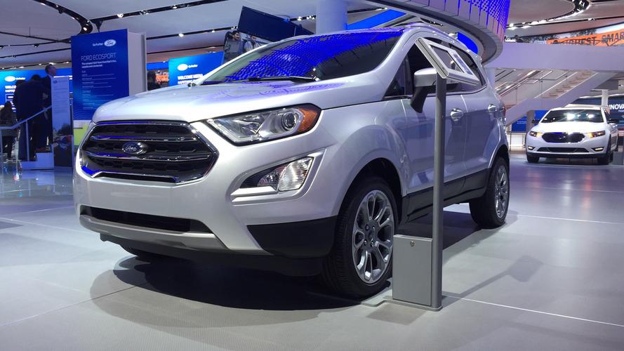 Novo Ford EcoSport 2018 começa a ser feito no Brasil em maio