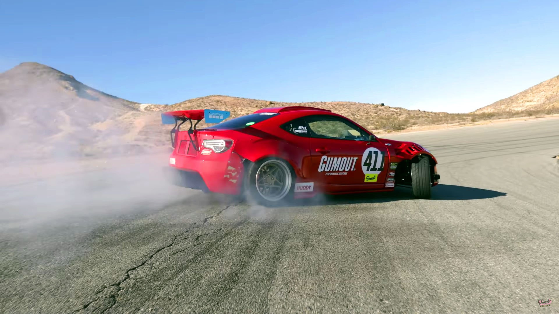 Ferrari Powered Toyota Gt86 Hits The Track For The First Time