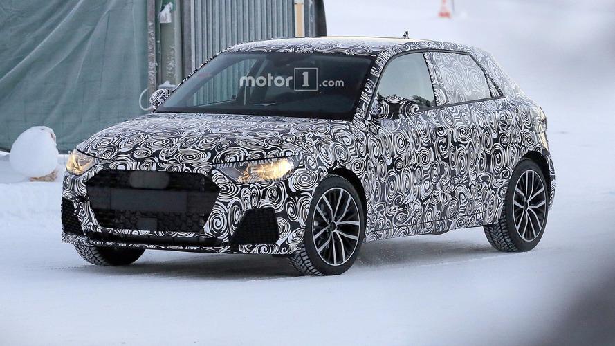 Photos espion - Découvrez les premières images de la prochaine Audi A1