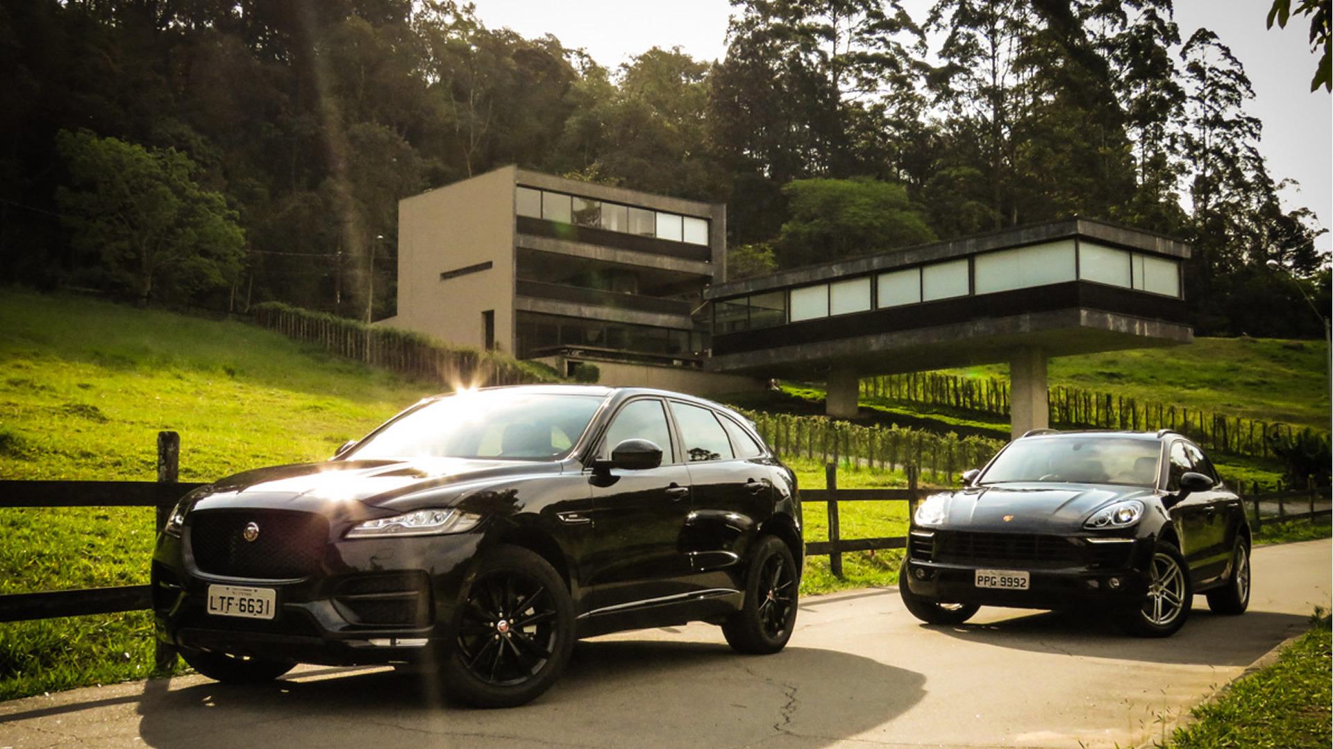 Teste: Jaguar F Pace Pega O Porsche Macan Em Seu Primeiro Desafio No Brasil
