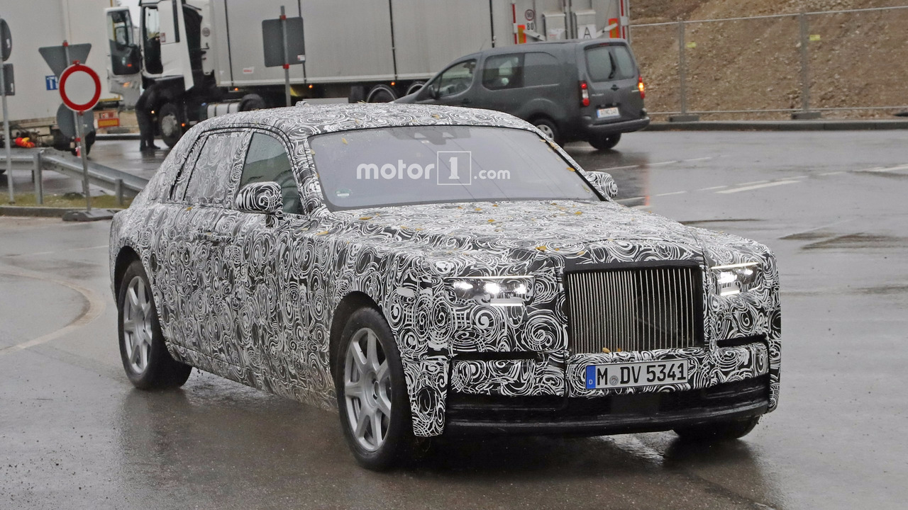 2018 Rolls-Royce Phantom casus fotoğrafı