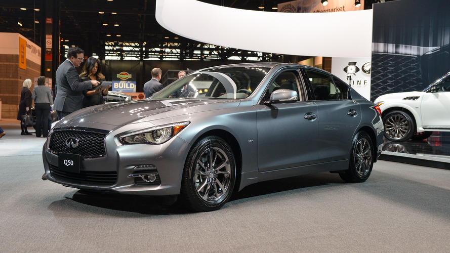 Chicago'daki lüks esintisi: Infiniti Q50 ve QX80 Signature Edition