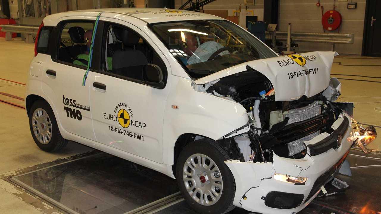 Fiat Panda, the Euro NCAP crash test