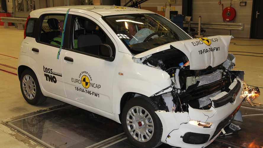 Crash test Euro NCAP, bene tutti tranne Fiat Panda e Jeep Wrangler