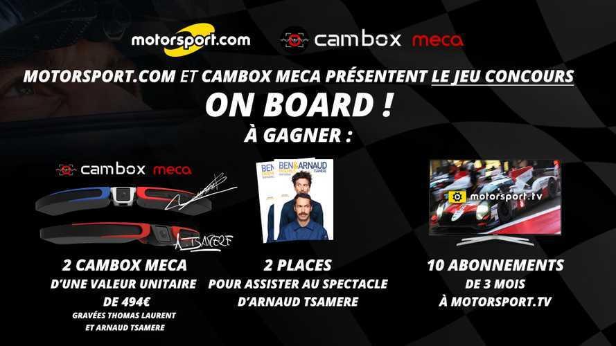 Jeu concours - Gagnez une caméra Cambox Meca et le spectacle d'Arnaud Tsamere