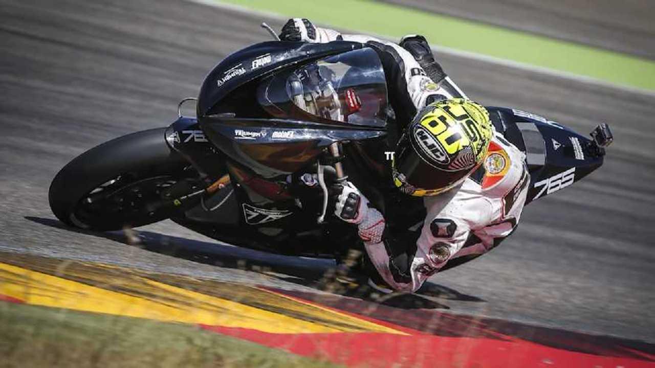 Triumph Moto2 Testing