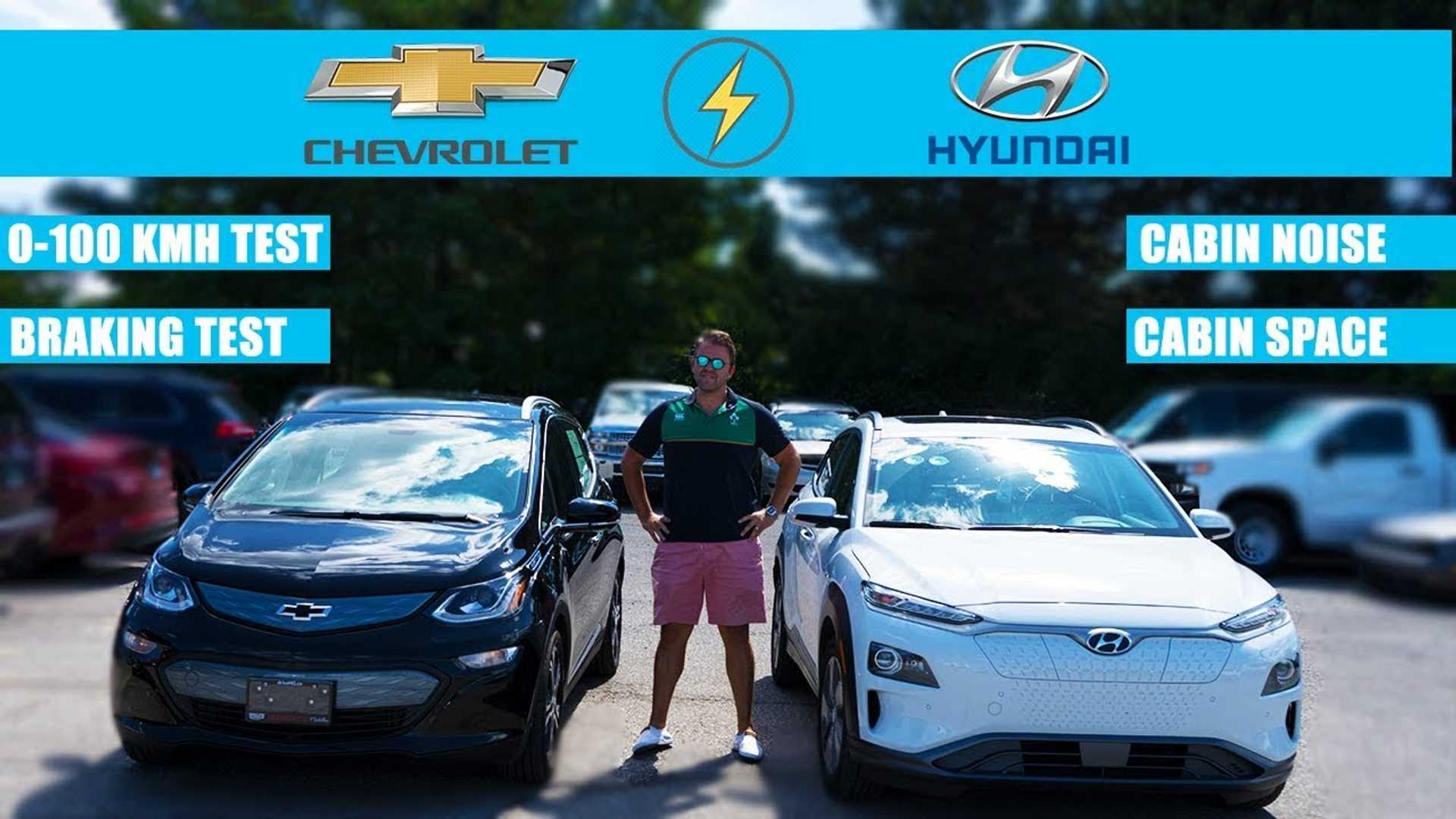 Hyundai Kona Electric Vs Chevy Bolt EV: Electric Crossovers Compared