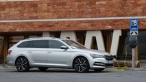 skoda superb iv pluginhybrid test