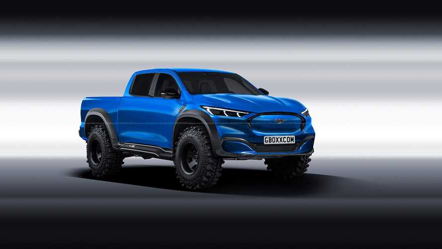 Mustang Mach-E Truck Fan Renderings