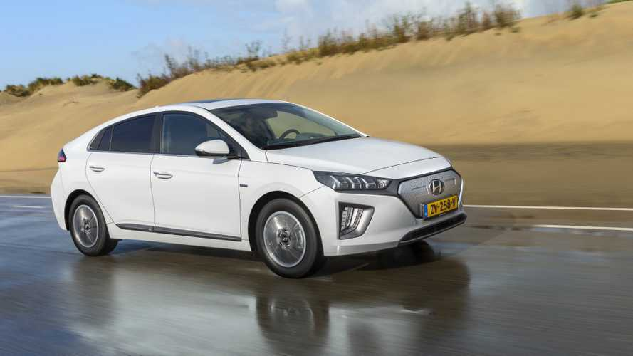 Mid-Cycle Facelift For Hyundai Ioniq Electric Appears In Amsterdam