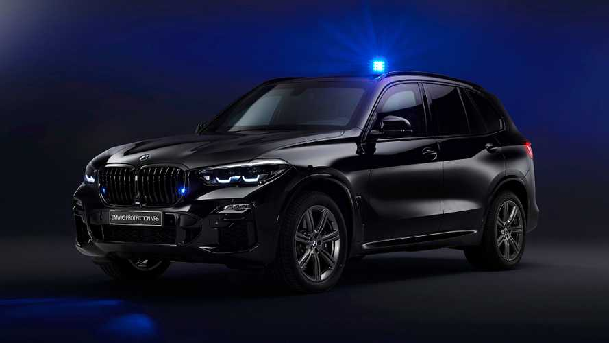 BMW X5 Protection VR6, l'auto blindata col tetto anti drone
