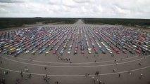 Ford Mustang: concentración récord