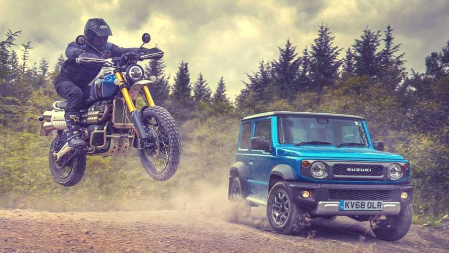 "Triumph Scrambler 1200: in off-road ""svernicia"" le 4x4 [VIDEO]"