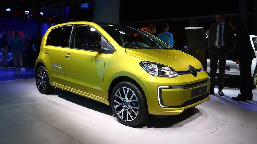 Volkswagen e-up!, al Salone di Francoforte la versione rinnovata