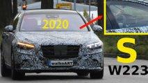 2020 Mercedes S-Serisi görüntüleri