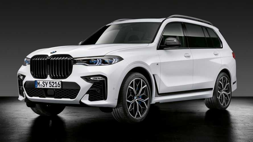 BMW M Performance Parts make X5 M, X6, X6 M and X7 look sportier