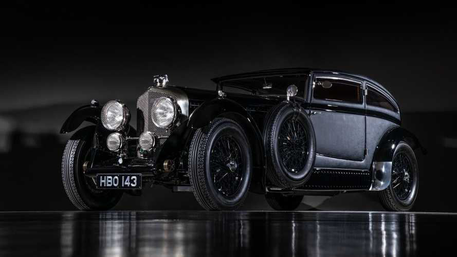 "Drop Jaws With This Dramatic 1953 Bentley ""Blue Train"" Recreation"