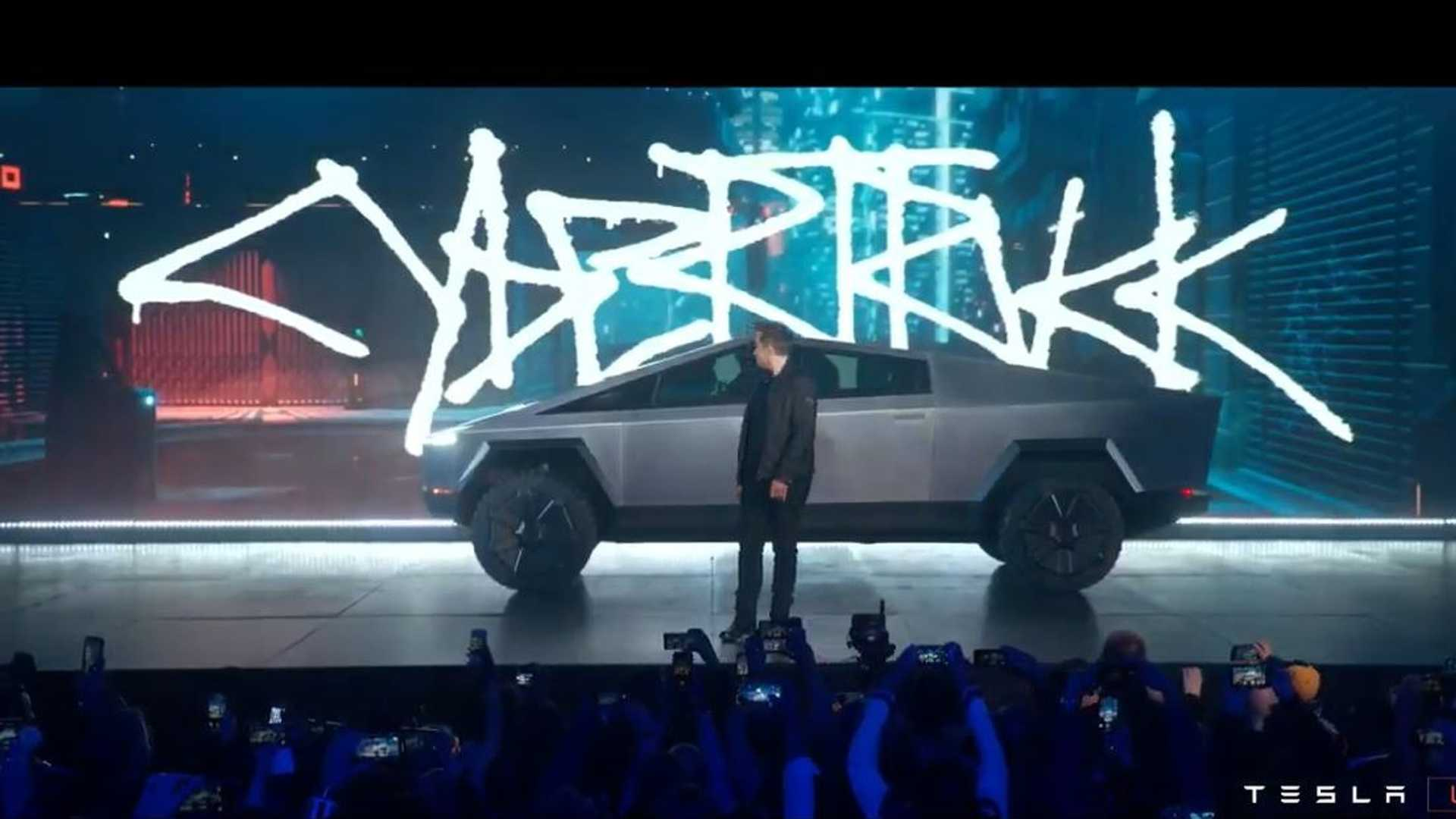 Tesla Cybertruck Debuts With Sci-Fi Personality And Gobs Of Power