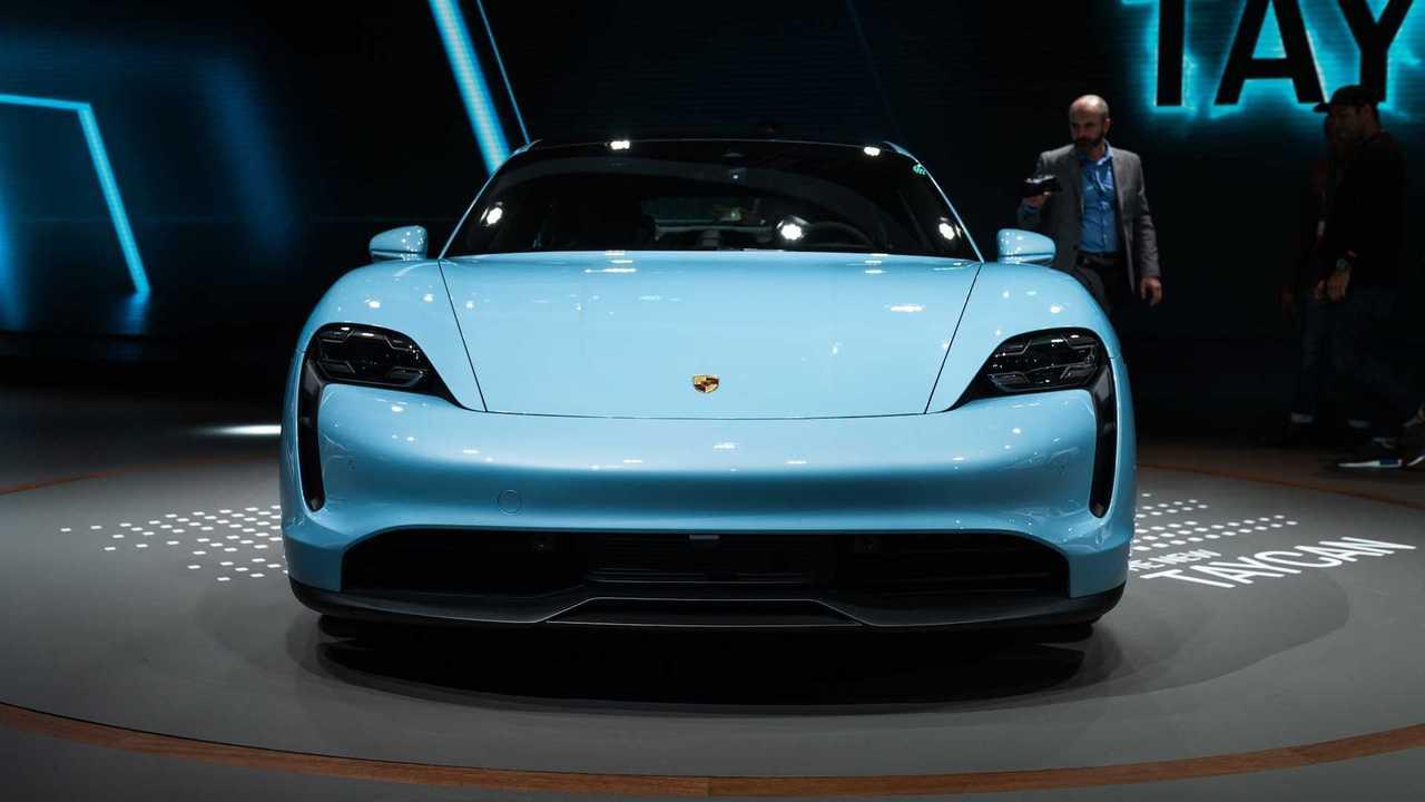 Porsche Taycan 4S: LA Auto Show
