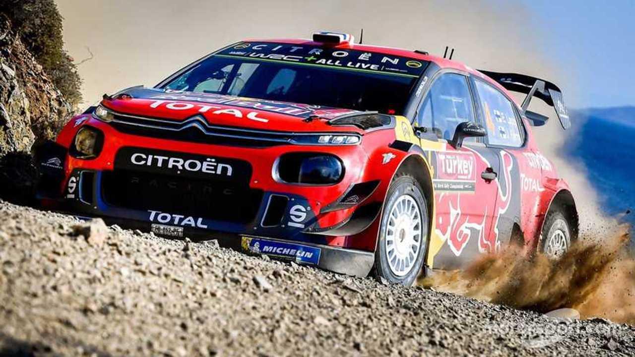 Citroen C3 WRC Rally Turkey 2019