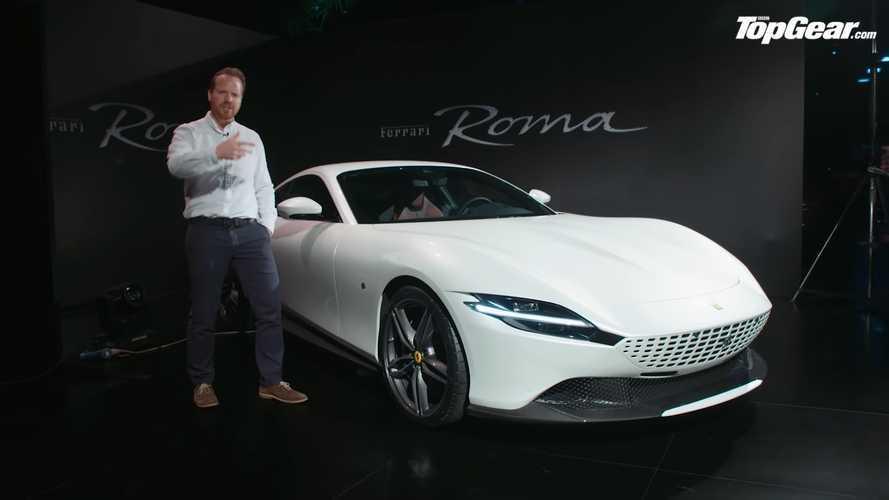 Top Gear'ın videosuyla Ferrari Roma'ya yakından bakın