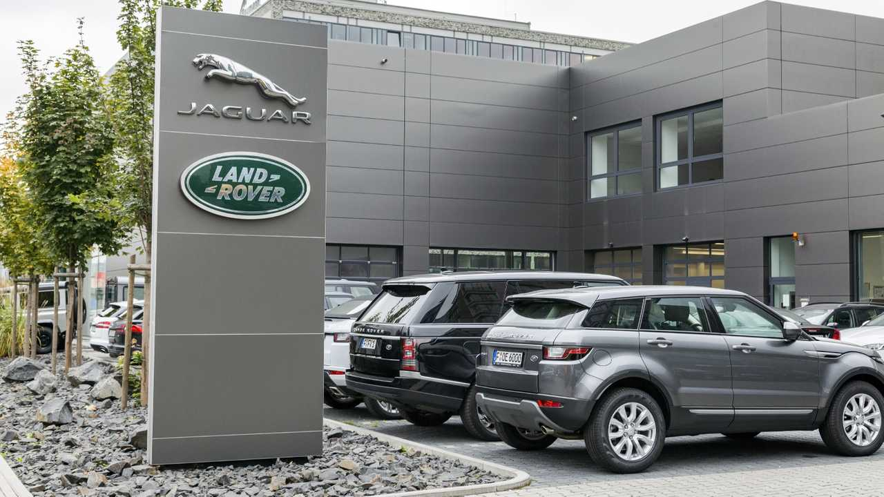 Jaguar Land Rover dealership in Frankfurt Germany