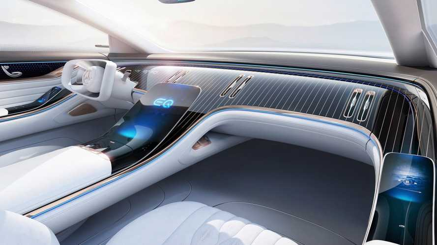 Mercedes EQ Concept reveals futuristic interior in new teasers