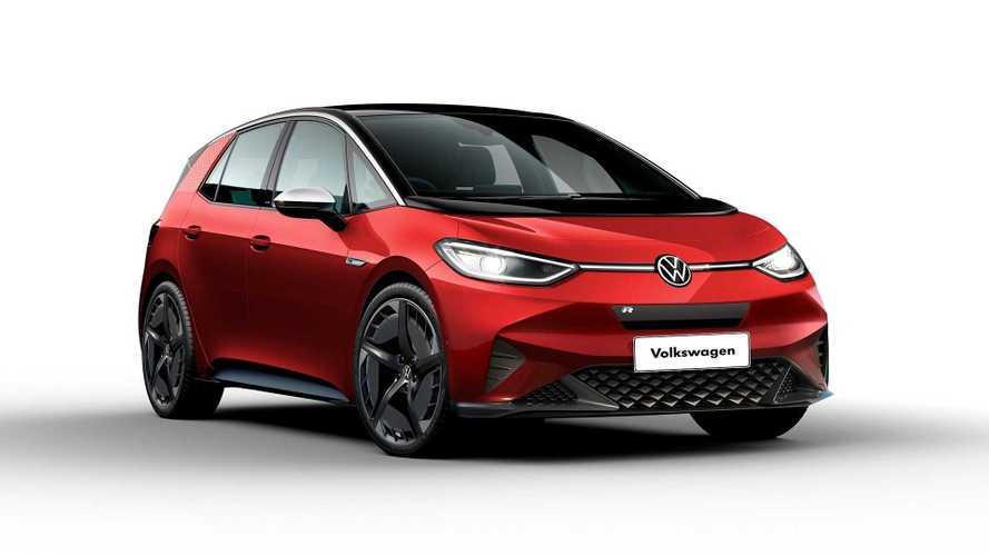 Así podría ser el Volkswagen ID.3 R, un eléctrico muy 'picante'